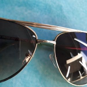American Eagle Outfitters Accessories - American Eagle Smoke Gold Aviator Sunglasses | AE